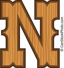 Western N letter