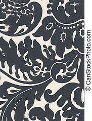 Handcrafted damask design great for backgrounds, textures,...
