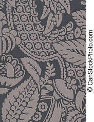 Handcrafted damask design. great for backgrounds, textures,...