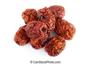 Dried jujube fruits/Chinese dates, which naturally turn red...