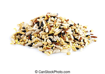 Raw grains, mixed with 12 different grains
