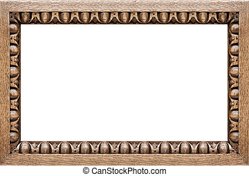 Carved Oak Picture Frame 3:2