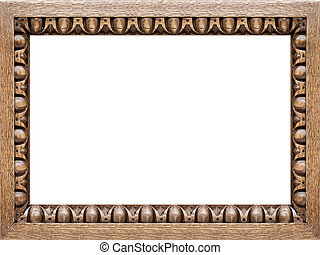 Carved Oak Picture Frame 4:3