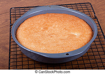 A Baked Cake