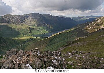 Buttermere Valley 1 - A view of the Buttermere Valley from...