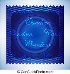 青, コンドーム