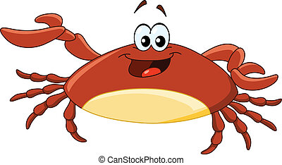 Crab - Cartoon crab