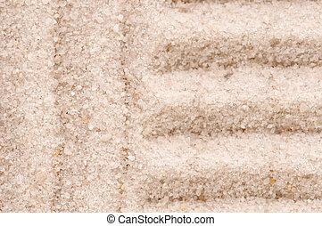 Zen. Sand