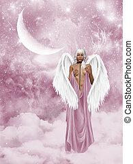 fallen Angel - a fallen angel in the heaven?s gate