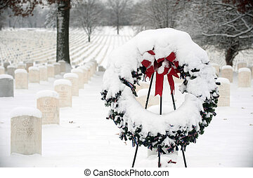 Jefferson Barracks National Cemetery near St Louis following...