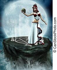 Medusa 2 - Medusa, the daughter of the sea gods
