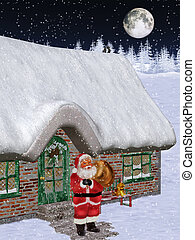 Santa is coming 2 - Santa Claus makes itself back on way