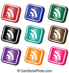 RSS feed web buttons