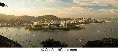 Rio de Janeiro - Landscape of Rio de Janeiro as seen from...