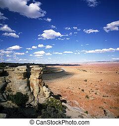 Desert scenery in Utah