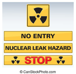 nuclear icon and button