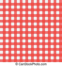 vector red picnic cloth