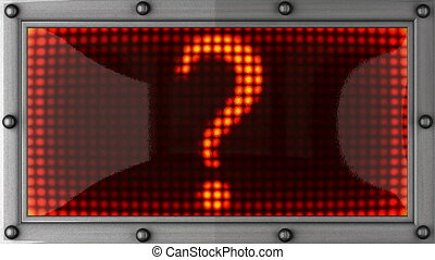 question mark announcement - question mark announcement on...