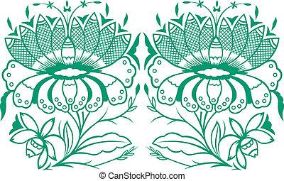 花, 植物, 自然, デザイン