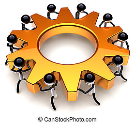 Teamwork business process - Teamwork process. Business...