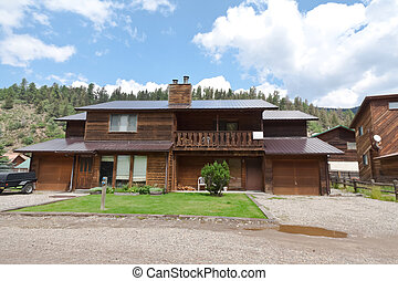 Cute Wooden Ski Chalet Cabin Mountains NM - Ski house in...