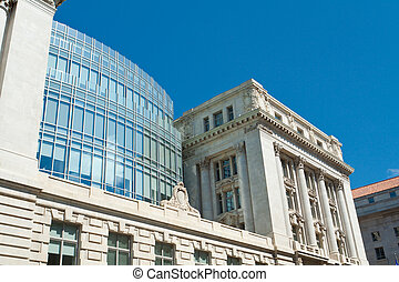 Beaux Arts Wilson Building City Hall Washington DC - The...