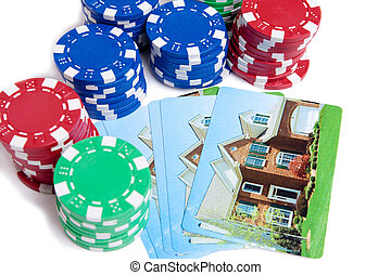 Bet the House Poker Chips on Foreclosed Mortgage