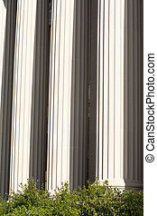 Marble Columns Office Building Washington DC USA