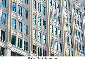Modern Office Building Facade Washington DC USA - Modern...