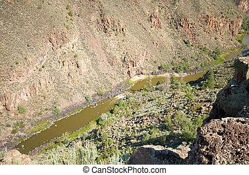 Rio Grande River Gorge, North Central New Mexico - Rio...