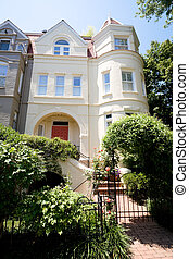 Richardsonian Romanesque Row House Home Washington - Tidy...