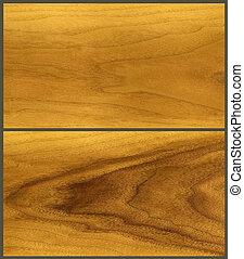 Wood, teak veneer