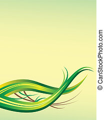 Leaf abstract background template with copy space
