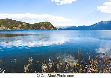 lugu lake - Lugu Lake Cave called as Lu Zi, also known as...