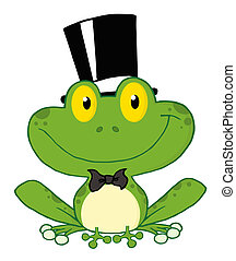 Frog Groom - Groom Frog Cartoon Character