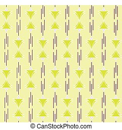 seamless deco berry pattern