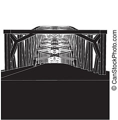Arch Bridge Vector