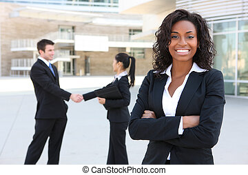Diverse Attractive Business Team - A diverse attractive man...