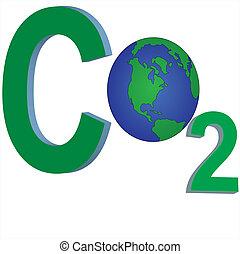 carbondioxide - carbon dioxide emission determine global...