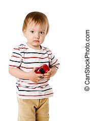 男孩, 玩具, 藏品