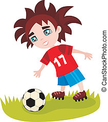 soccer - vector illustration of a soccer