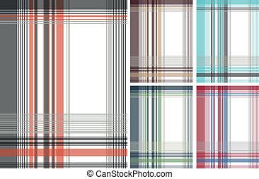 fashion fabric plaid check textile
