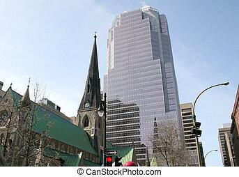 建築物, 現代, 老, 教堂