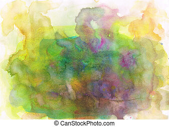 Beautiful watercolor background