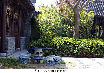 Keramik sitzgruppe - china
