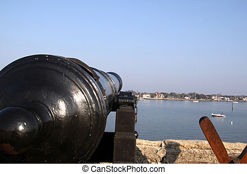 View of Matanzas Bay, Florida - taken from castillo san...