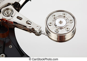hdd close up - hdd background macro close up