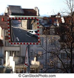 lausanne -  lausanne cityscape close up