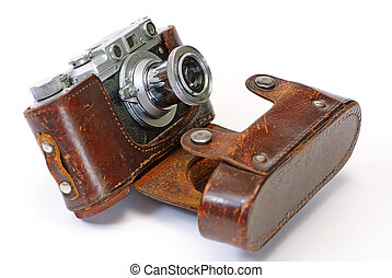 antieke, fototoestel