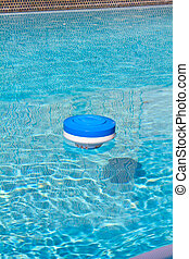 Pool Chlorine Cleaning Device - An image of a pool chlorine...